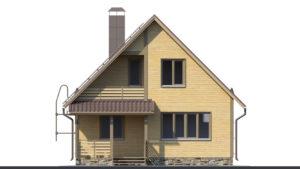 Дом из бруса БСУ-ПБ 15