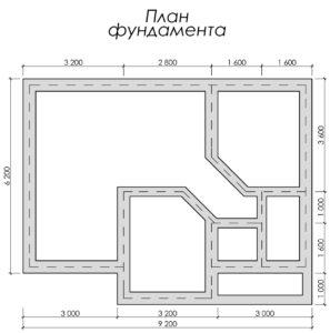 Дом из бруса БСУ-УС 47