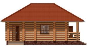 Деревянная баня БСУ-БК 6