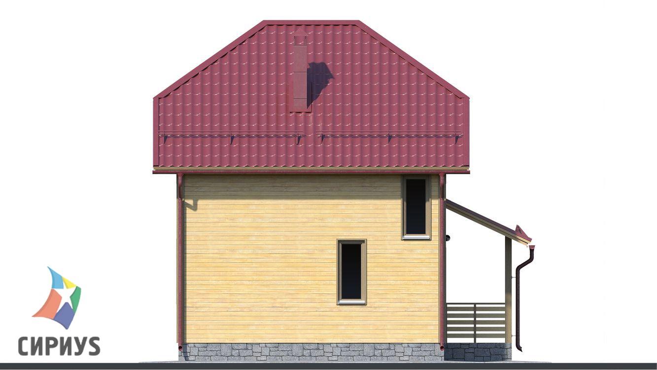 Дом из бруса БСУ-ПБ 7
