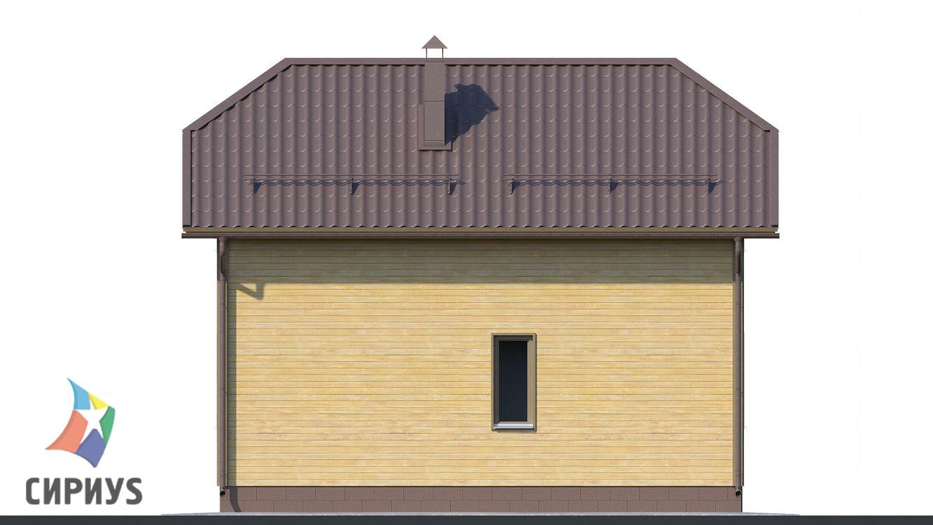 Дом из бруса БСУ-ПБ 9
