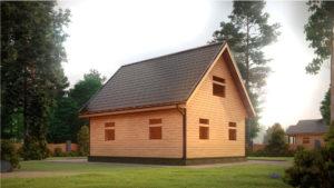 Дом из бруса БСУ-УС 41
