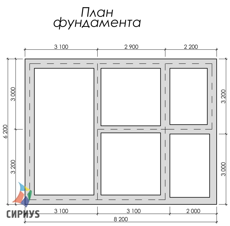 Дом из бруса БСУ-УС 27