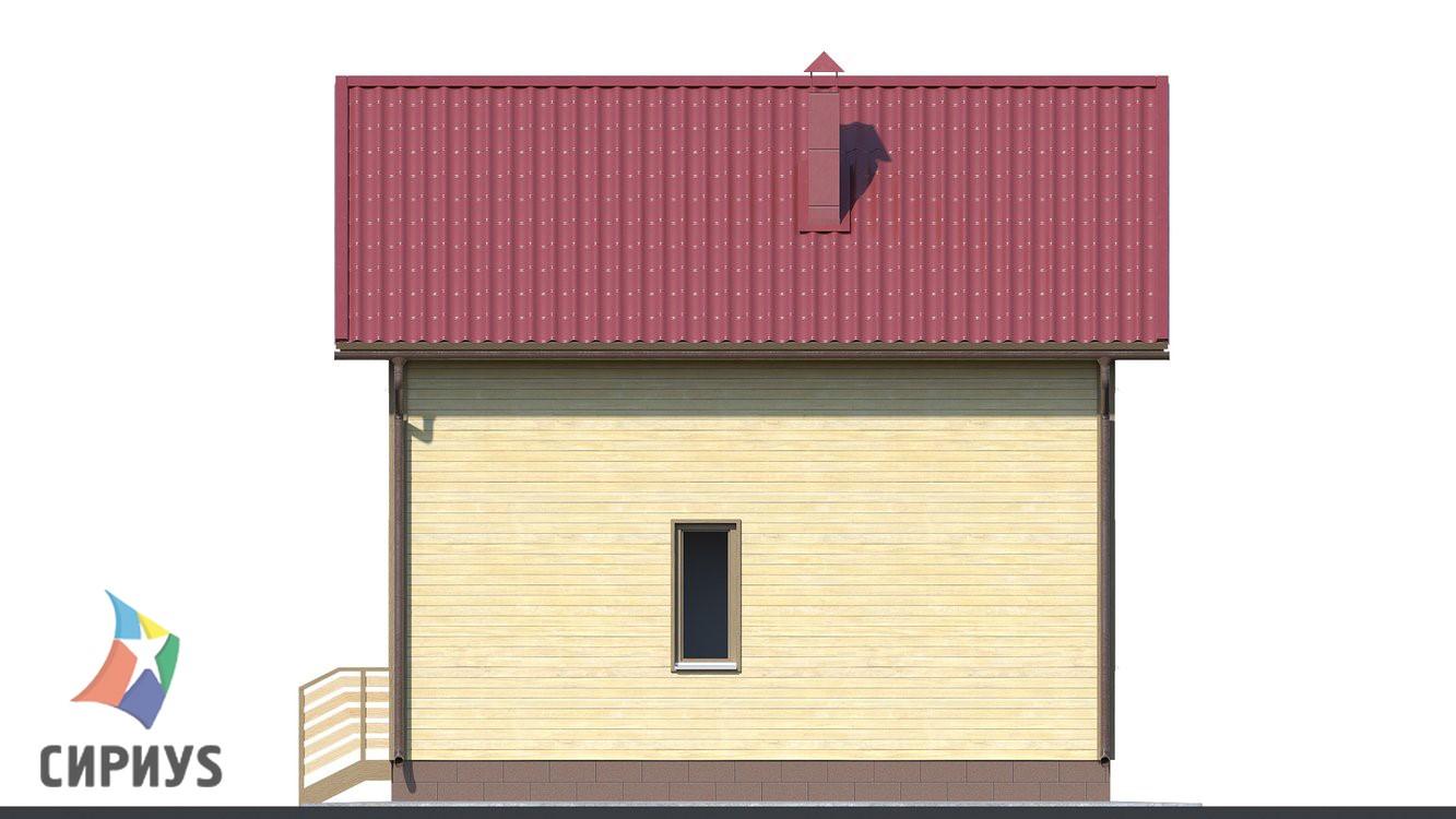 Дом из бруса БСУ-ПБ 4