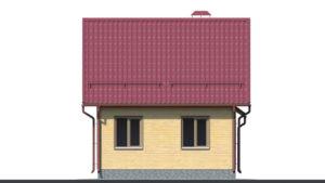 Дом из бруса БСУ-ПБ 10