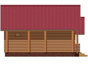 Деревянная баня БСУ-БК 7