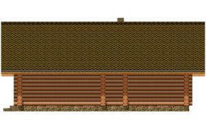 Деревянная баня БСУ-БК 8