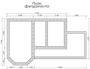 Дом из бруса БСУ-УС 46