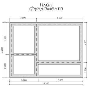 Дом из бруса БСУ-УС 30