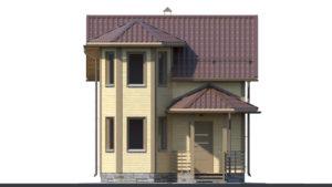 Дом из бруса БСУ-ПБ 2
