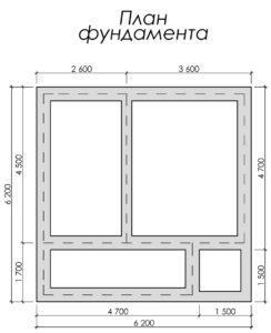 Дом из бруса БСУ-УС 7
