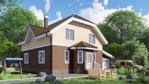 Каркасный дом БСУ-КД 47