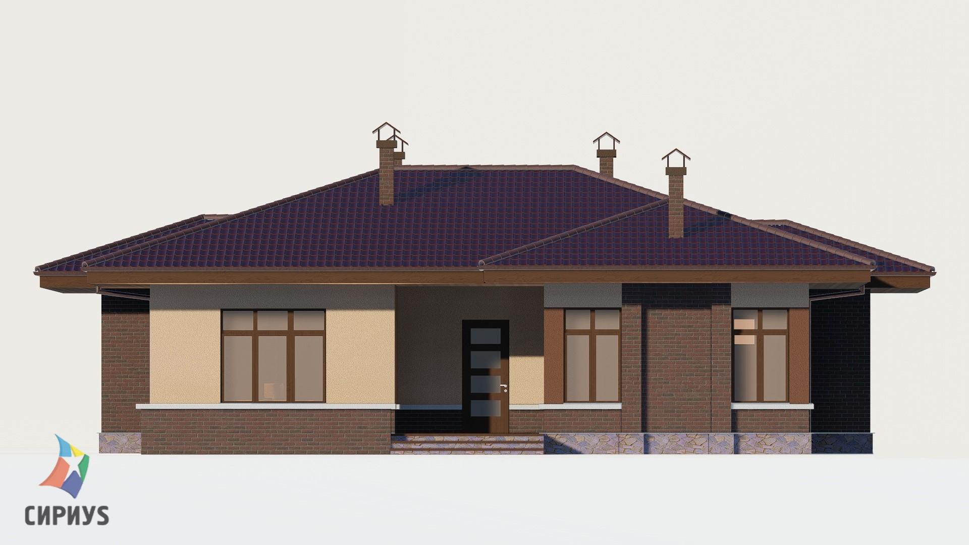 Каркасный дом БСУ-КД 1-5