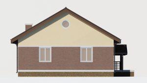 Каркасный дом БСУ-КД 1-3
