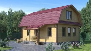 Каркасный дом БСУ-КД 6