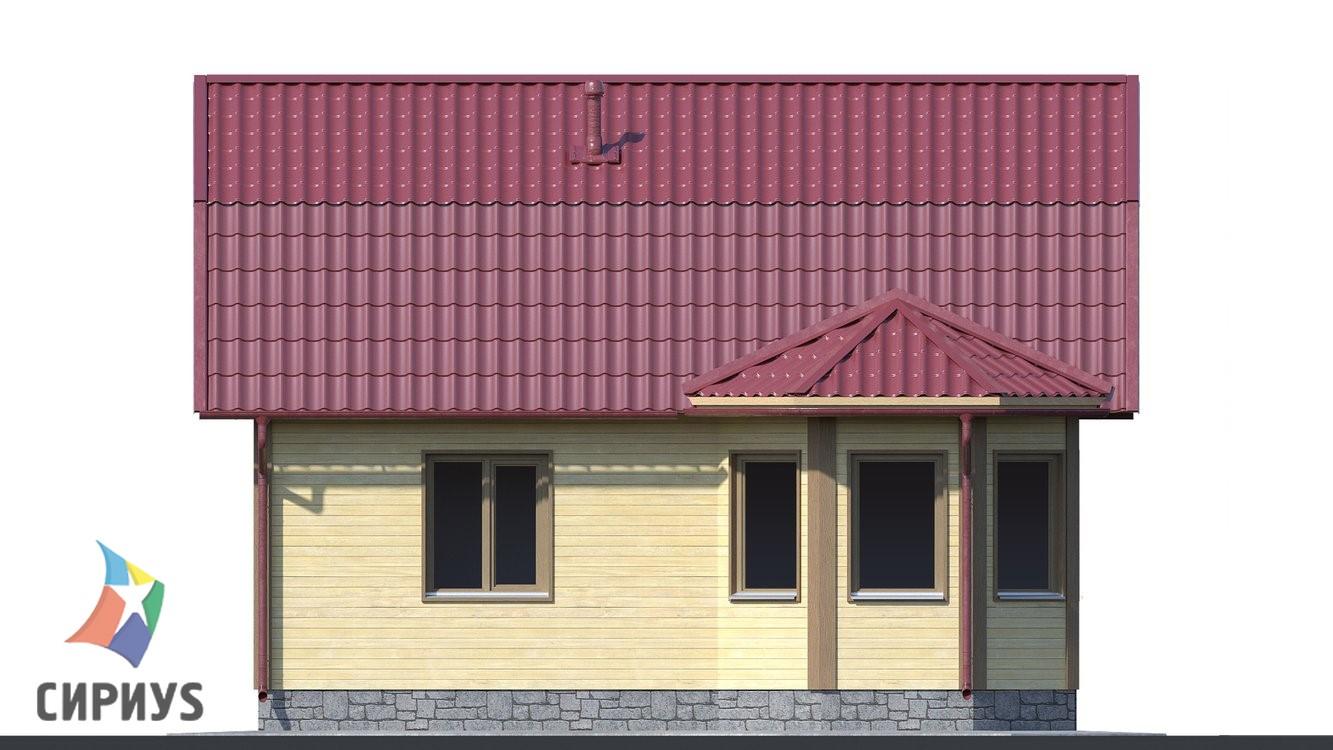 Каркасный дом БСУ-КД 5
