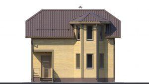 Каркасный дом БСУ-КД 9