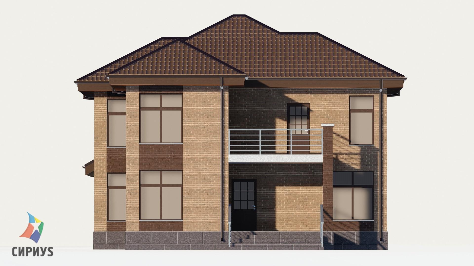Дом из блоков БСУ-ДБ 28