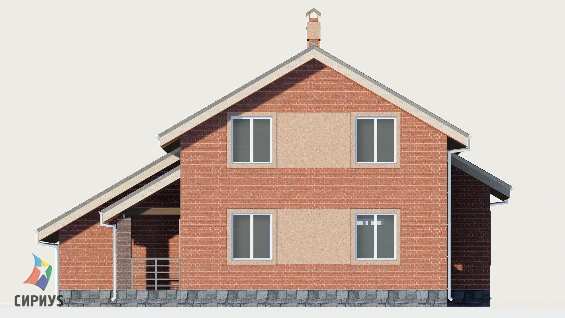 Дом из блоков БСУ-ДБ 11