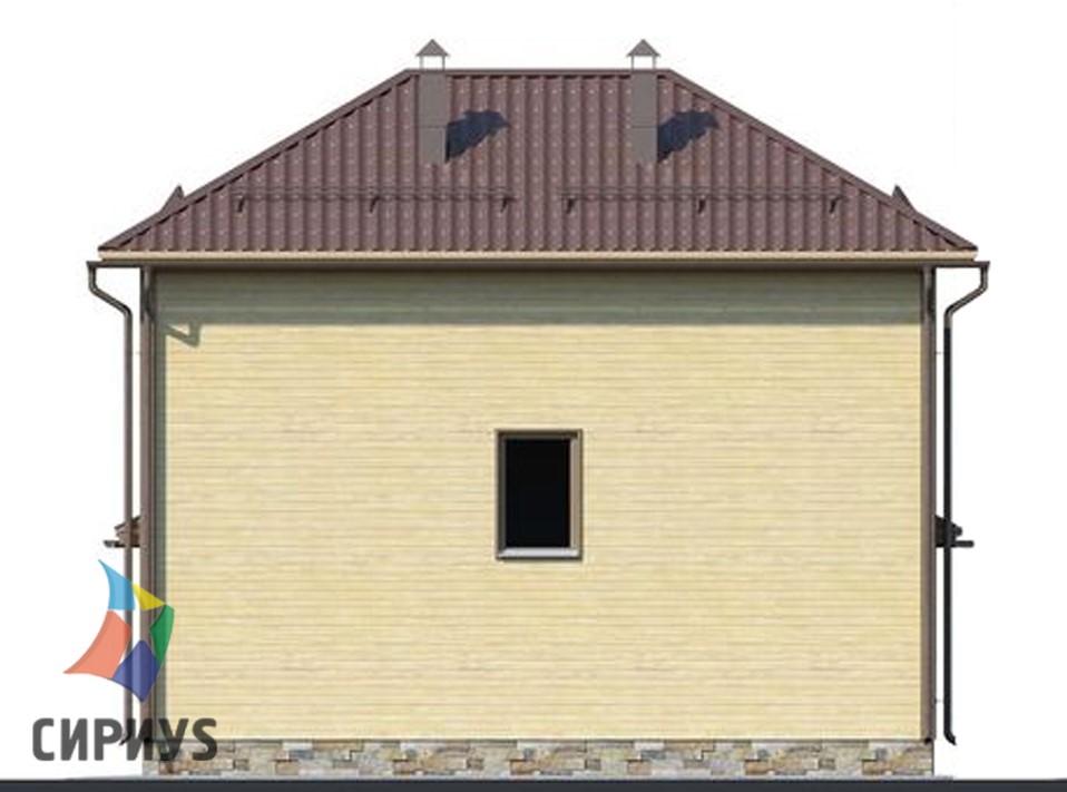 Каркасный дом БСУ-КД 17
