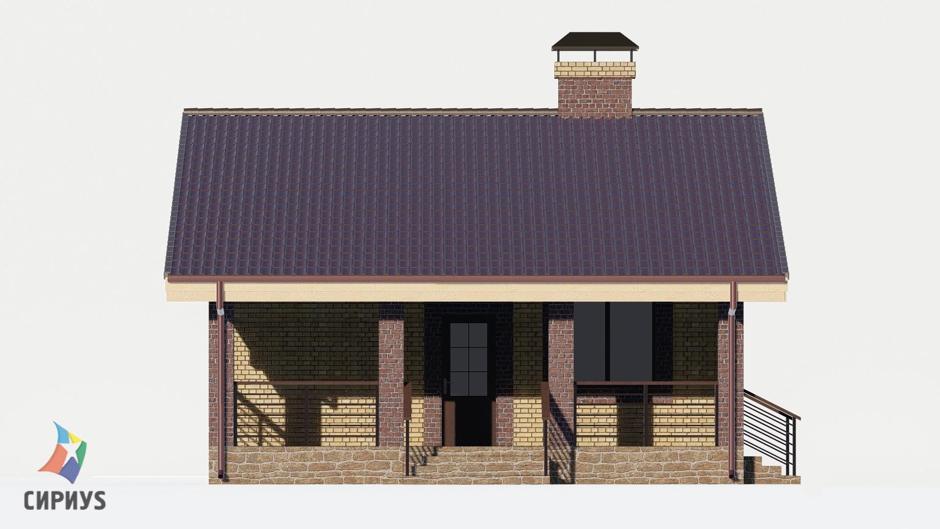 Дом из блоков БСУ-ДБ 1-1