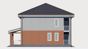 Дом из блоков БСУ-ДБ 19