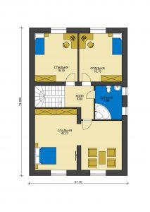 Дом из блоков БСУ-ДБ 42
