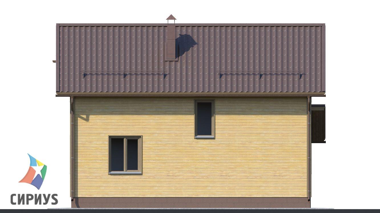 Каркасный дом БСУ-КД 19