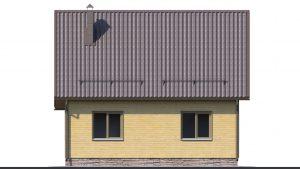 Каркасный дом БСУ-КД 20