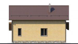 Каркасный дом БСУ-КД 25
