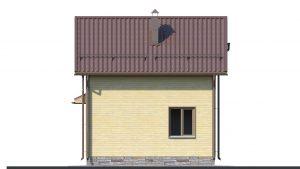 Каркасный дом БСУ-КД 2